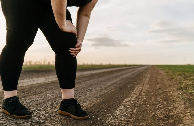 ارتباط چاقی با درد زانو